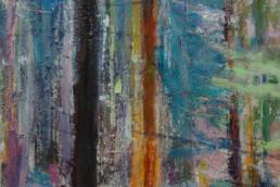 WALD 2016, Öl auf Leinwand, 80 x 60