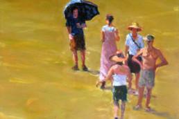 STROH UND GOLD 2010, Öl auf Leinwand, 100 x 100, verkauft